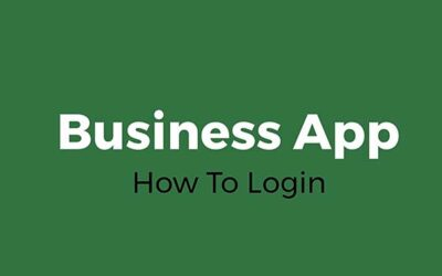 How To Login: Business App